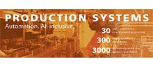 3000 supplied production systems worldwide