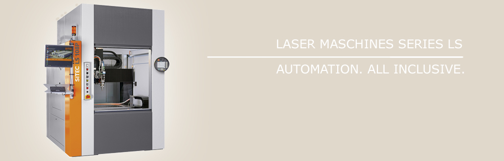 Laser machines of LS series for integration in automated machine systems