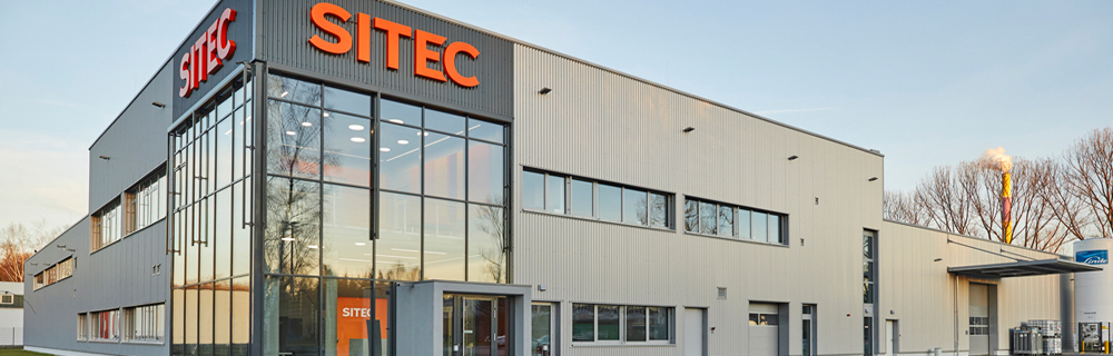 new production hall for series production of SITEC Industrietechnologie GmbH